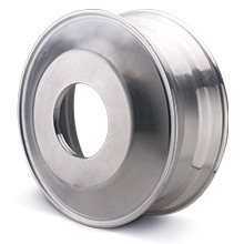 CNC blank for truck wheel